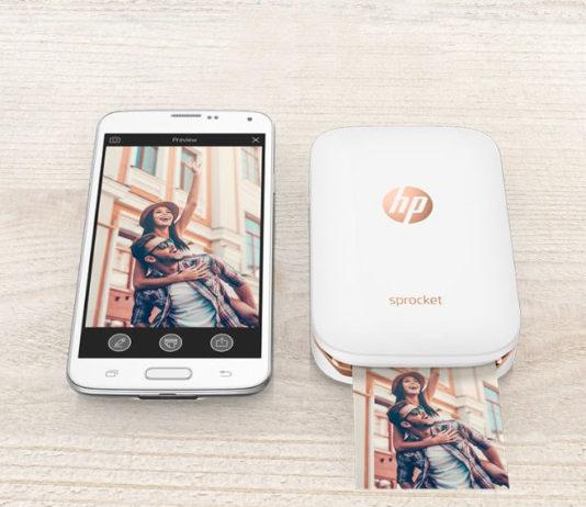 HP Portable Photo Printer Sprocket