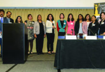 Indian American women at annual IACS conference