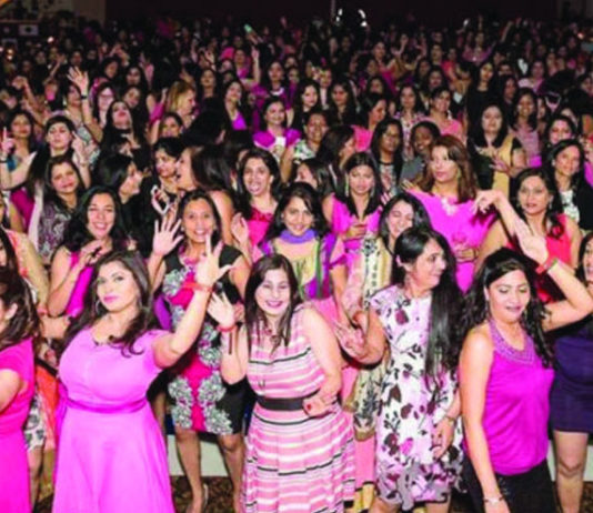 Glam girls night event