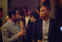 Aziz Ansari with Lena Waithe wins Emmy's