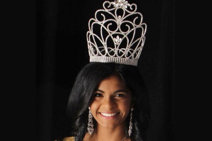 First Miss Virginia Teen USA