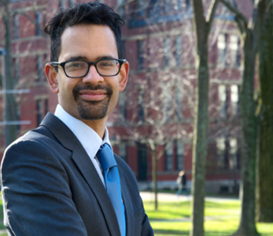 Sunil Amrith receives MacArthur Fellowship Program