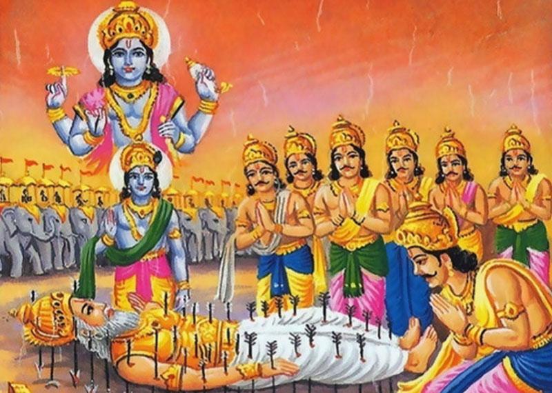 Vishnu Sahasranamam Strotam Recital By Bheshma Pitamah Nrinewstoday